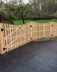 Wood Fence – D. Sutton Landscaping LLC
