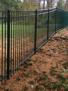Aluminum Fence – D. Sutton Landscaping LLC