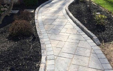 Paver Walkway – D. Sutton Landscaping LLC