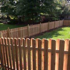 Wood Fence – D. Sutton Landscaping LLC