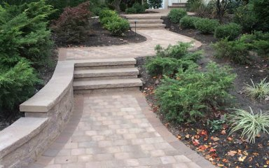 Paver Walks – D. Sutton Landscaping LLC